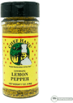 Chef Hans Lemon Pepper  6 oz. Bottle